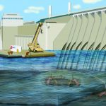 Dam with Commercial Divers