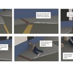 Storyboards for Accident Reconstruction
